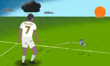 Eden Hazard can shine at Real Madrid without being the new Cristiano Ronaldo | Barney Ronay