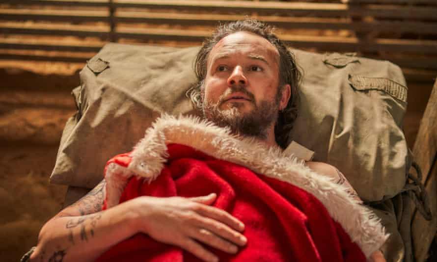 Daniel Henshall in A Sunburnt Christmas.