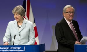 Britain and the EU adopt their negotiating positions