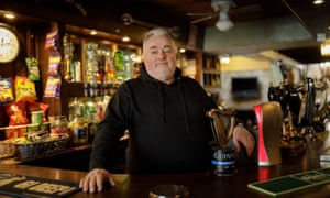 Stephen Wilson, landlord of the Sherborne Arms AKA The Keepers Arms.