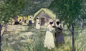 Powerless in 'Paradise' …  A plantation in Jamaica, c1900.
