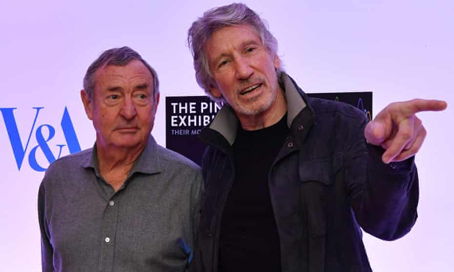Nick Mason and Roger Waters