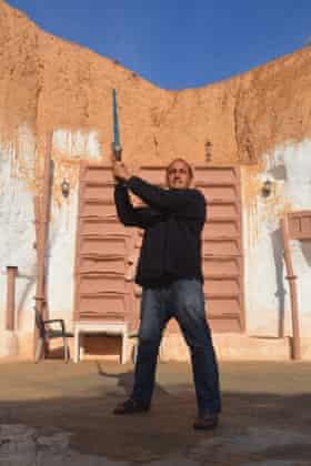 Massoud Ben Rachid, Director of Sidi el Driss Hotel, Matmata.