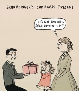 Berger & Wyse on Schrödinger's cat – cartoon