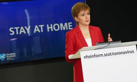 Sturgeon reveals irritation over Whitehall lockdown messaging