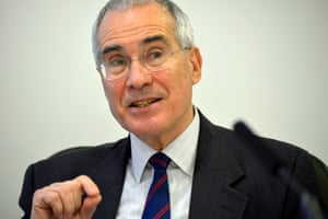 Lord Nicolas Stern, leading climate change econoomist