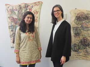 Mehwish Iqbal and Sophia Kouyoumdjian
