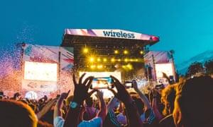 Wireless festival, Finsbury Park, London, July 2017.