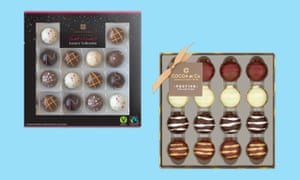 Chocolate boxes under £10