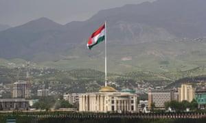 View of Dushanbe, the capital of Tajikistan