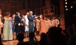 Actors in Hamilton address vice-president-elect Mike Pence: 'There was something about the booing I didn't like.'