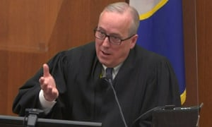 Hennepin County District Judge Peter Cahill  presides over the Derek Chauvin trial.