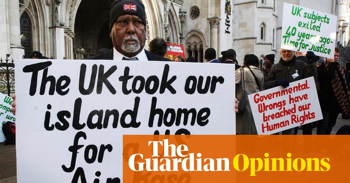 The Guardian view on Britain and the Chagos Islands: time for justice