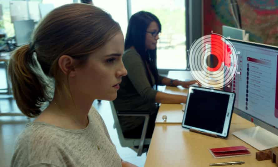 Emma Watson in The Circle, the film adaptation of Dave Eggers' 2013 book on the power of giant tech companies.