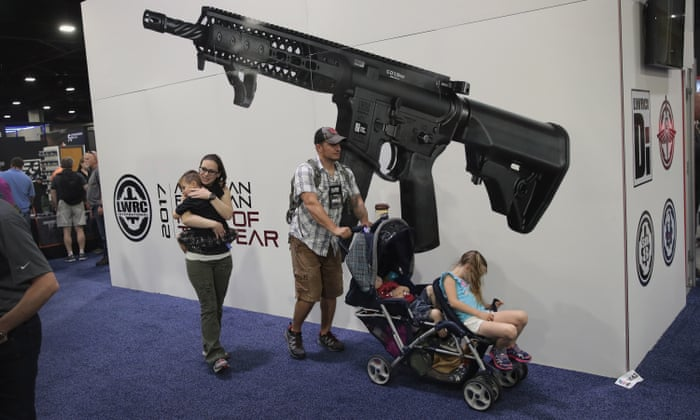 Why is the National Rifle Association so powerful? | US news