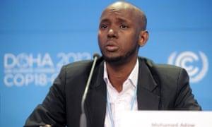 Mohamed Adow, climate advisor, Christian Aid