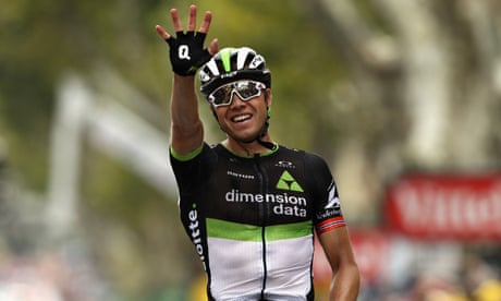 Tour de France: Edvald Boasson Hagen wins stage 19 – video highlights
