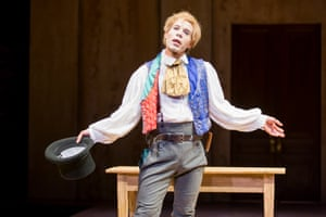 Jon Hudson Odom in An Octoroon: the New York production experimented with black-, white- and redface.