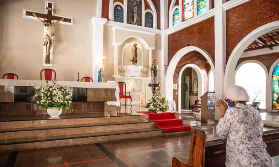 Father Lino Allegri's church in Fortaleza.
