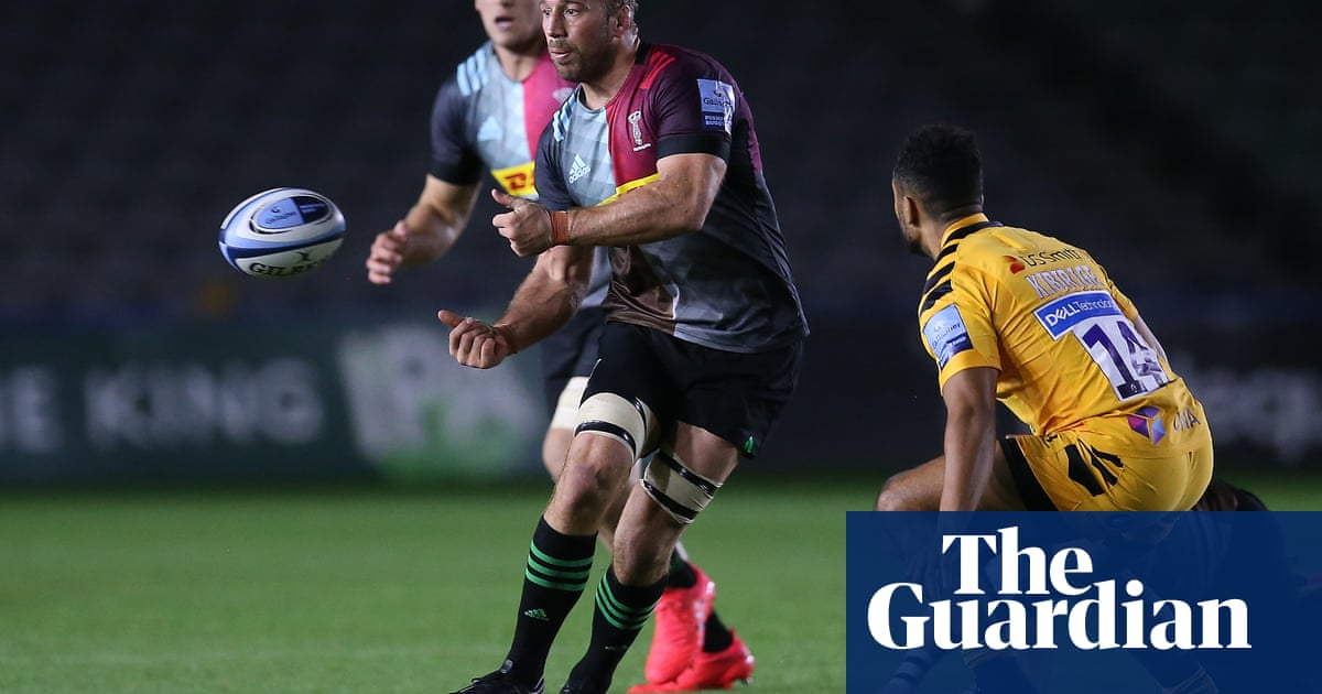 Late surge by Wasps ruins Chris Robshaws home farewell to Harlequins
