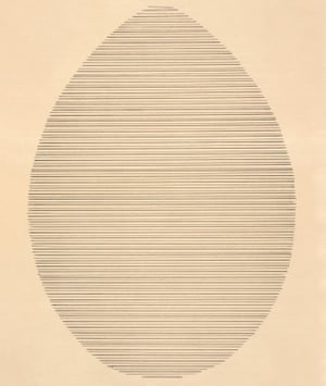 Agnes Martin, The Egg, 1963. 'There's something so spiritual about it.'