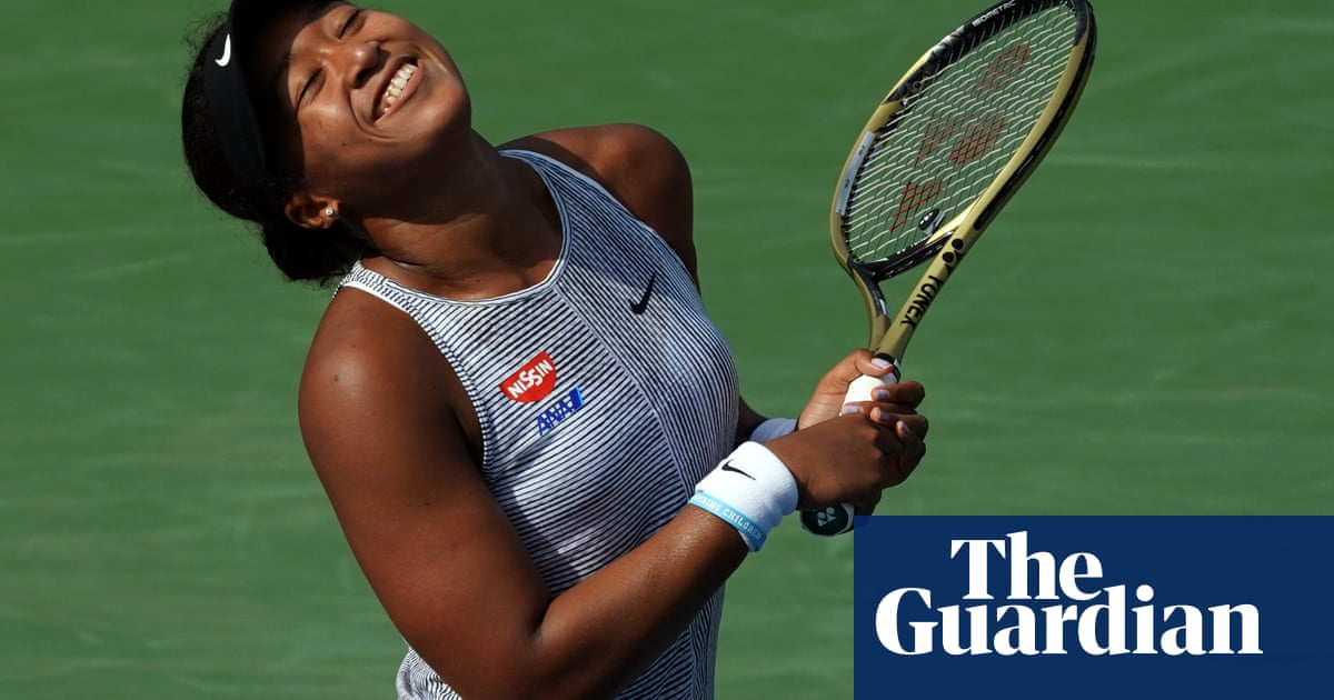 Naomi Osaka happy to deal with great expectations at US Open | Bryan Armen Graham