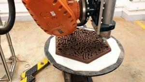 3D printed terracotta tiles
