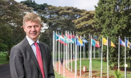 Erik Solheim, UN Environment's executive director