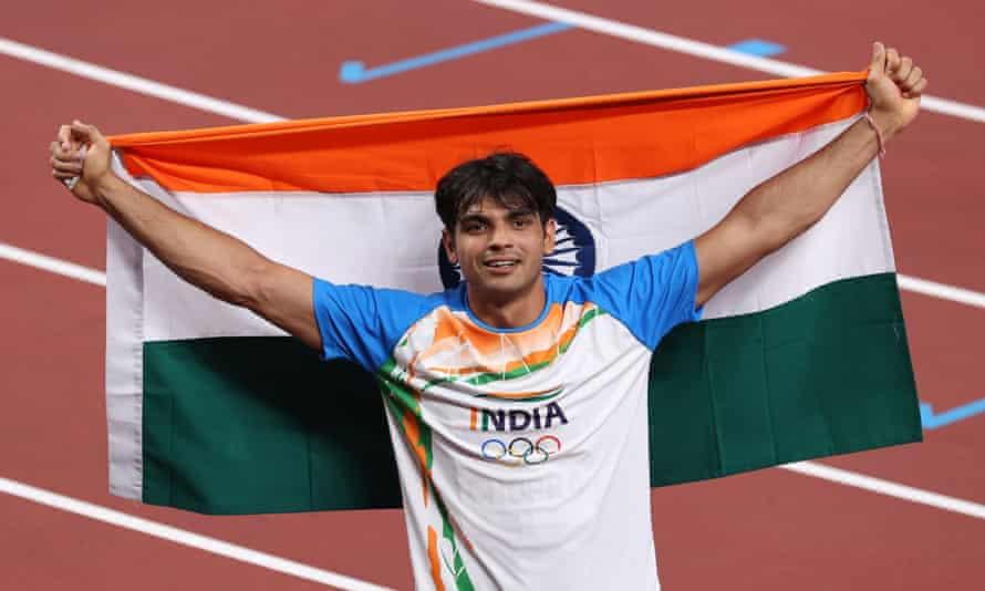 Neeraj Chopra's javelin gold medal seals India's greatest ever Olympics   India   The Guardian