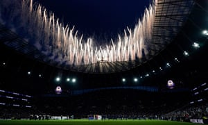 Tottenham on Wednesday played his first Premier League match at his new stadium.