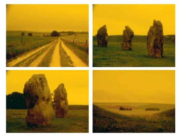 Derek Jarman stills: A Journey to Avebury.