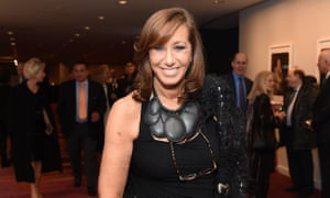 Donna Karan … one of the industry's big, brilliant personalities.