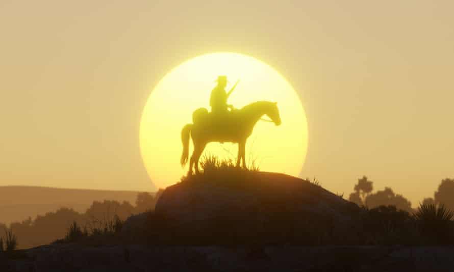 Smouldering revenge trauma in a beautiful landscape … Red Dead Redemption 2.