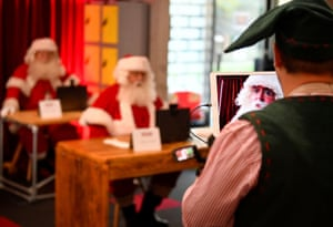 Most in-person Santa's Grotto experiences will have to be cancelled amid the coronavirus pandemic.