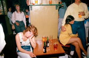 Tired drink picture, from Looking for Love, 1985