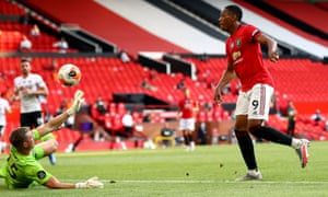 Manchester United 3 0 Sheffield United Premier League As It Happened Football The Guardian