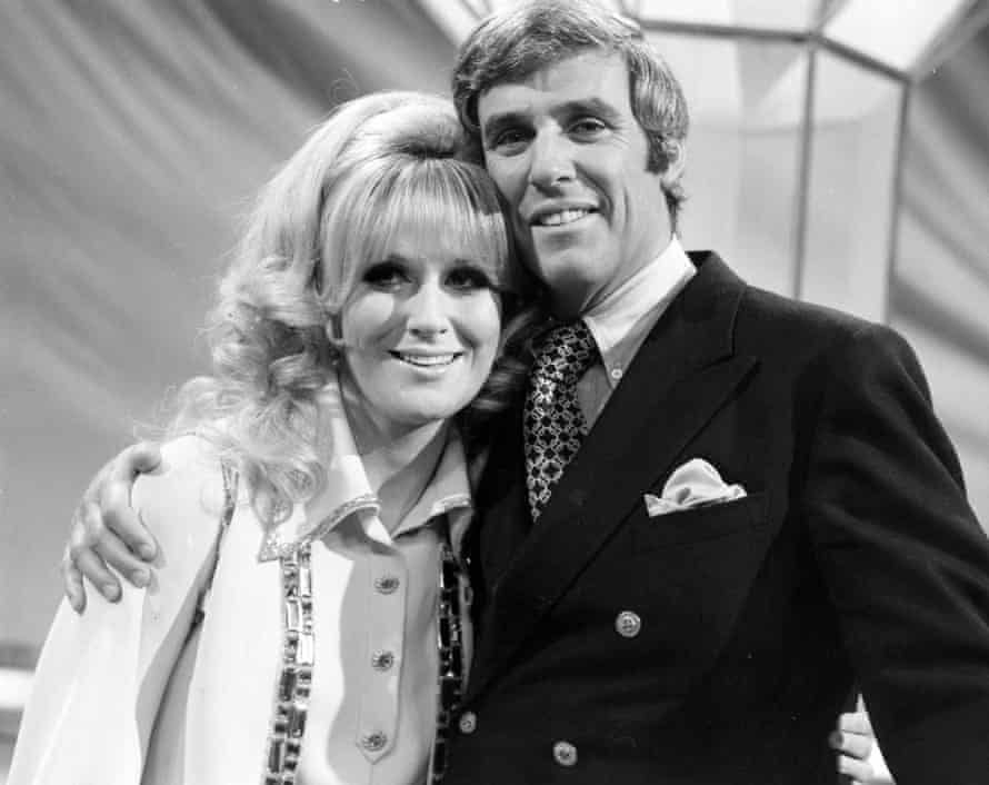 Bacharach with Dusty Springfield on his TV show in 1970.