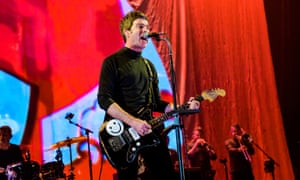Noel Gallagher's High Flying Birds performing at Max-Schmeling Hall in Berlin earlier this month.
