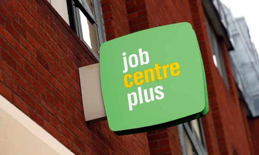Jobcentre Plus sign