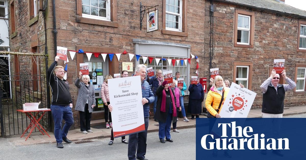'It's a lifeline': Cumbrian villagers raise £200,000 to save last shop
