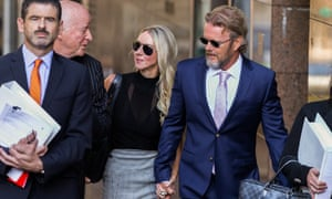 Craig McLachlan outside Melbourne magistrates court. The actor is facing seven counts of indecent assault, after one was dropped, along with one count of assault and one attempted indecent assault