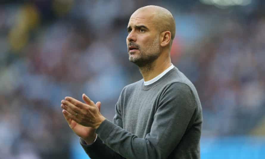 The Manchester City manager Pep Guardiola said: 'Last season we had that feeling we weren't going to score but now we've got it.'