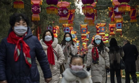 People took no chances in Beijing after new year celebrations were cancelled in January.