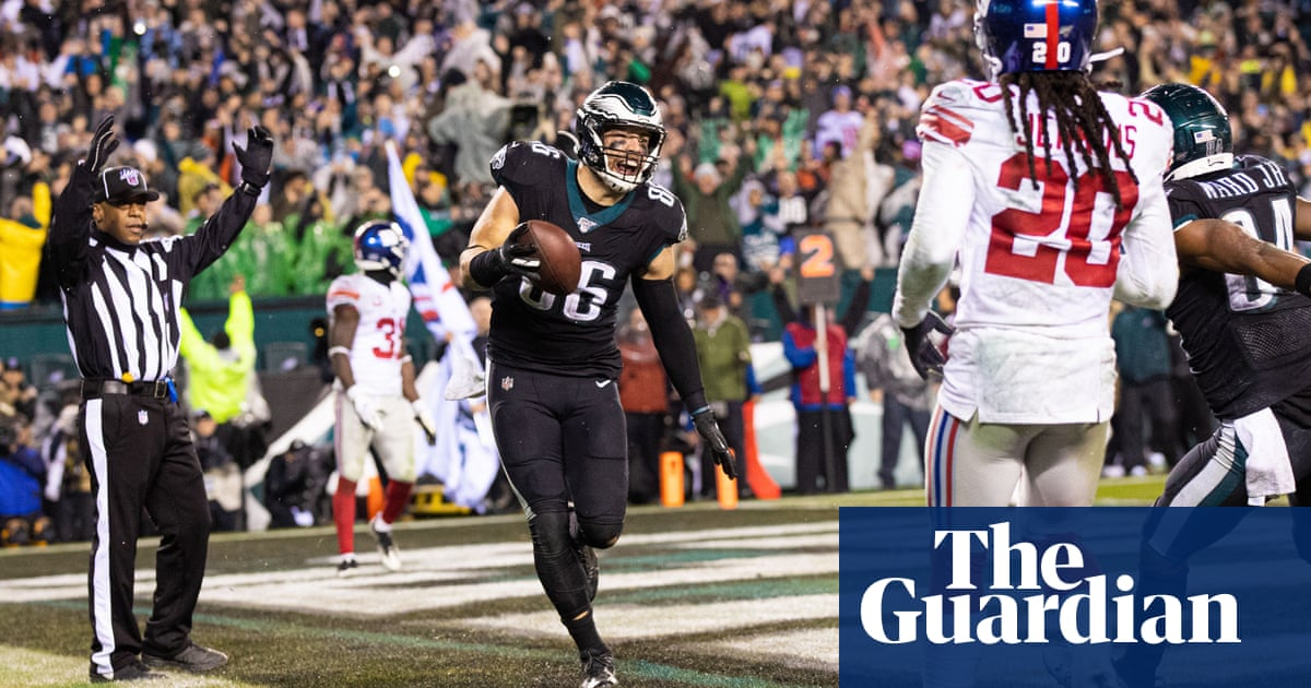 Philadelphia Eagles escape Giants in overtime to lead NFC East on 6-7
