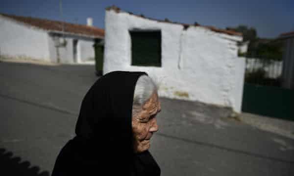 Encarnação Maria, 91, in Alcoutim.
