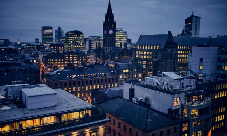 Manchester city scene