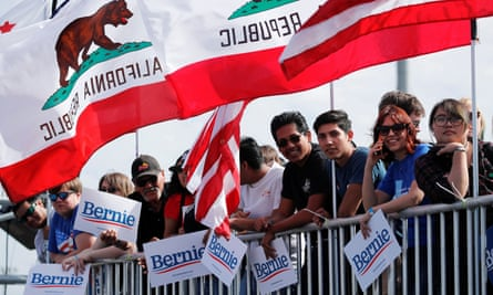 Bernie Sanders' strategy includes a focus on hyper-local issues and grassroots activism.