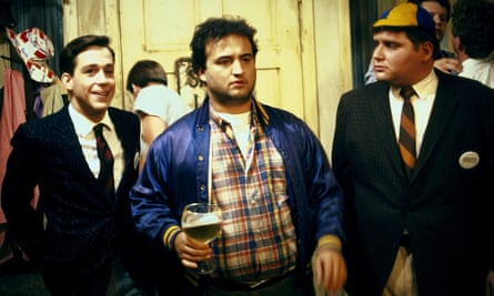 Tom Hulce, John Belushi and Stephen Furst in 1978's Animal House.