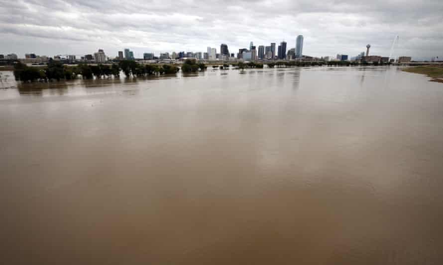 Flooding in Dallas.