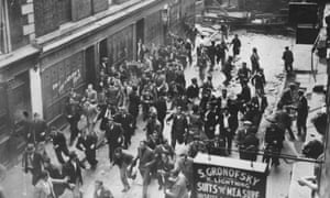 Riots in Cable Street, London, 1936